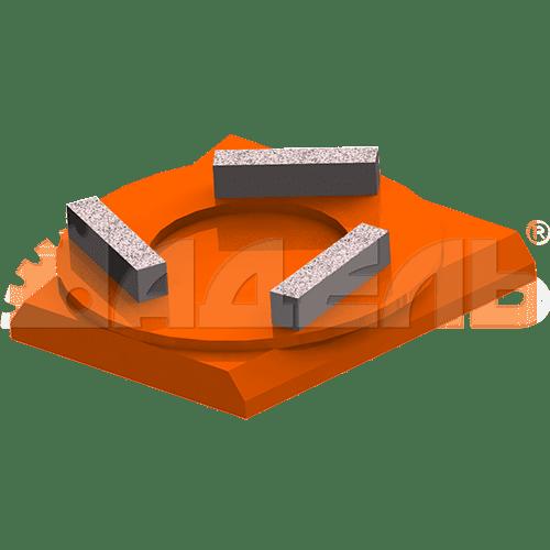 """Расходные материалы Франкфурт обдирочный """"USW"""" GFB S0 прокат, аренда Москва"""